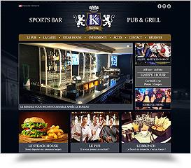 Sports bar, Grill & Pub Kanon Paris 17