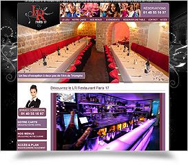 Restaurant Bar Club Paris 17 et 18 - LR Restaurant