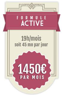 Formule Active - Mon Community Manager