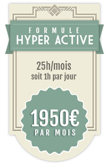 Formule Hyper Active - Mon Community Manager